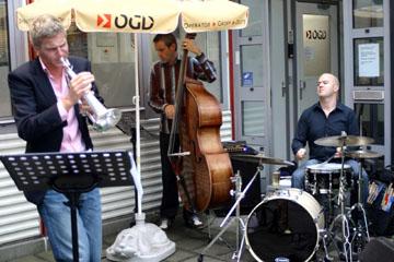 Jazz tijdens de BBQ