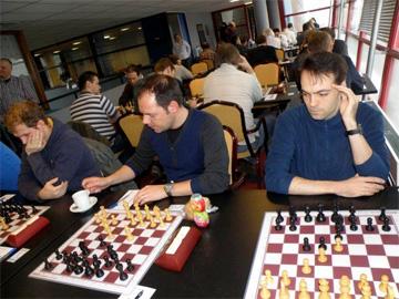 v.l.n.r: Ricardo, Lucien, Pieter