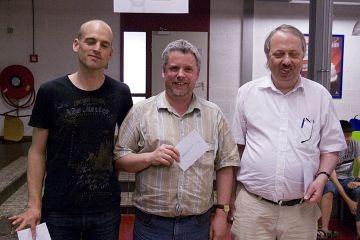 Jouke van Goslinga, Bert Bergshoeff en Andre Osinga
